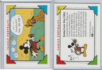 1992 Impel, Walt Disney Cards, #165 Mickey Mouse, Pluto