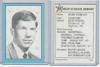 1993 Freedom Press, High School Heroes, #22 Mike Schmidt, Baseball
