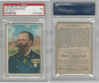 T68 ATC, Heroes/Men of History, 1912, Emmanuel, Victor of Italy, PSA 1
