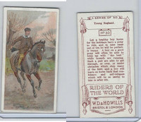 W62-234 Wills, Riders Of The World, 1913, #30 Young England