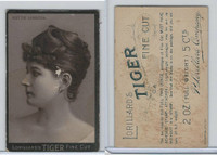 N263 Lorillard, Tiger Fine Cut, Actresses, 1888, Nettie Langton