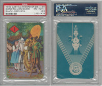 1940 Castell Card, Wizard Of Oz, #1 Dorthy, Scarecrow, Tin, PSA 8.5 NMMT+