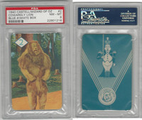 1940 Castell Card, Wizard Of Oz, #2 Cowardly Lion, PSA 8 NMMT