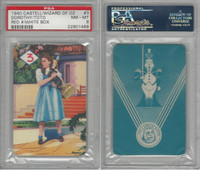 1940 Castell Card, Wizard Of Oz, #3 Dorothy, Toto, PSA 8 NMMT