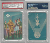 1940 Castell Card, Wizard Of Oz, #10 Cowardly Lion, PSA 8 NMMT