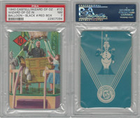 1940 Castell Card, Wizard Of Oz, #10 Wizard in Balloon, PSA 7 NM
