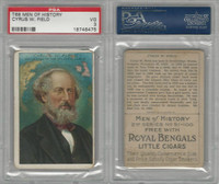 T68 ATC, Heroes/Men of History, 1912, Field, Cyrus, PSA 3 VG