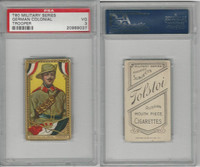T80 Tolstoi, Military, 1911, Colonial Trooper, Germany, PSA 3 VG
