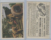 D59, Bell Bread, National Defense Pictures, 1940's, 155 MM Howitzer
