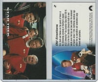 1994 Skybox, Star Trek Generations, #2 Old Emotions