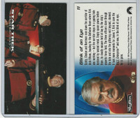 1994 Skybox, Star Trek Generations, #11 Blink of an Eye