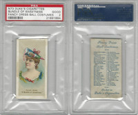 N73 Duke, Fancy Dress Ball Costumes,  1887, A Bundle of Sweetness, PSA 2 Good