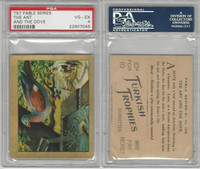 T57 Turkish Trophies, Fable Series, 1910, The Ant and the Dove, PSA 4 VGEX
