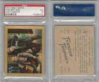 T57 Turkish Trophies, Fable Series, 1910, The Boy and the Filberts, PSA 5 EX