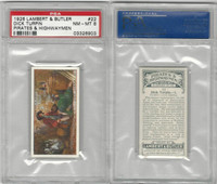 L8-64 Lambert, Pirates & Highwaymen, 1926, #22 Dick Turpin, PSA 8 NMMT
