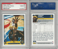 2003 Topps Collection Basketball, #7 Jermaine O'Neal, Pacers, PSA 10 Gem