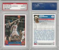 2003 Topps Collection Basketball, #120 Q. Richardson, Clippers, PSA 10 Gem