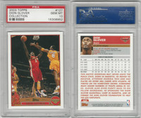 2003 Topps Collection Basketball, #127 Dion Glover, Hawks, PSA 10 Gem