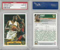 2003 Topps Collection Basketball, #133 Jerome James, Supersonics, PSA 10 Gem