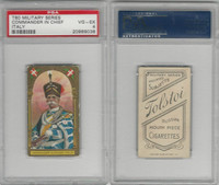 T80 Tolstoi, Military, 1911, Commander in Chief, Italy, PSA 4 VGEX