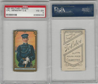 T80 Tolstoi, Military, 1911, Corporal Infantry, USA, PSA 4 VGEX
