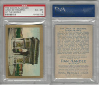 T99 ATC, Sights & Scenes, 1911, Arch of Triumph, Paris France PSA 6 EXMT