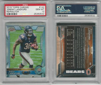 2015 Topps Chrome, #142 Jeremy Langford RC, Bears, PSA 10 Gem