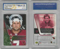 2006 Upper Deck Premiere Football, #15 Matt Leinart RC, Cardinals, WCG 10 Gem