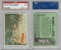 1969 Topps, Planet Of The Apes, #16 Proud Conquerors!, PSA 7 NM