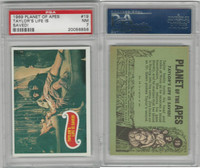 1969 Topps, Planet Of The Apes, #19 Taylor's Life Is Saved!, PSA 7 NM