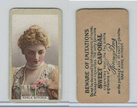 N214 Kinney, Actresses, 1892, Adele Ritchie (Type B)