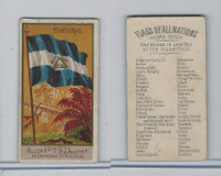 N10 Allen & Ginter, Flags of all Nations, 1890, Honduras