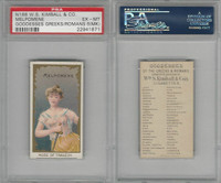 N188 Kimball, Goddesses of the Greeks & Romans, 1889, Melpomene, PSA 6 MK EXMT