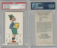 D64 Bakeries, Pinocchio Circus, 1939, Whistler, PSA 9 Mint