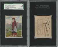 T52 Helmar, Costumes & Scenery, 1912, Scotch Girl, SGC A