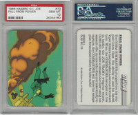 1986 Hasbro, G.I. Joe, #73 Fall From Power, PSA 10 Gem