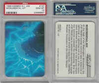 1986 Hasbro, G.I. Joe, #147 Monumental Hit, PSA 10 Gem
