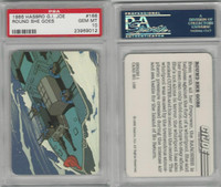 1986 Hasbro, G.I. Joe, #166 Round She Goes, PSA 10 Gem