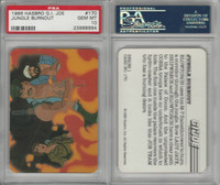 1986 Hasbro, G.I. Joe, #170 Jungle Burnout, PSA 10 Gem