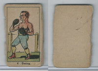 W542, Strip Card, Sports Drawings, 1920's, #4 Boxing