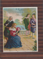 Victorian Card, 1890's, Appleton, N.W. Stationary, Boston, Le Hero