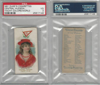 N91 Duke, Yacht Colors of the World, 1889, Central Hudson, PSA 3 VG