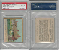 T69 Helmar, Historic Homes, 1910, Home, Anne Hathaway, PSA 4 VGEX