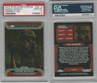 2015 Topps, Star Wars Chrome Perspectives, #48S Hondo Ohnaka, PSA 10 Gem