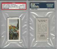 C0-0 Cadet Sweets, Adventures Rin Tin Tin, 1960, #17, PSA 10 Gem