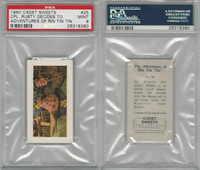 C0-0 Cadet Sweets, Adventures Rin Tin Tin, 1960, #25, PSA 9 Mint
