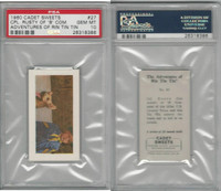 C0-0 Cadet Sweets, Adventures Rin Tin Tin, 1960, #27, PSA 10 Gem
