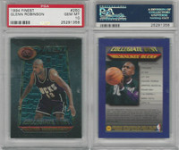 1994 Topps Finest Basketball, #250 Glenn Robinson, Bucks, PSA 10 Gem