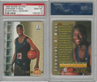1996 Score Board Basketball, #19 Jermaine O'Neal, Rookie, PSA 10 Gem