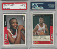 1996 Upper Deck CC Basketball, #315 Jermaine O'Neal, Blazers, PSA 10 Gem